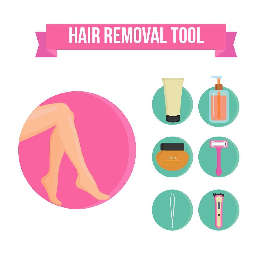 روش های جایگزین لیزر موهای زائد در بارداری