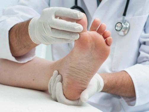 بیماری های پا