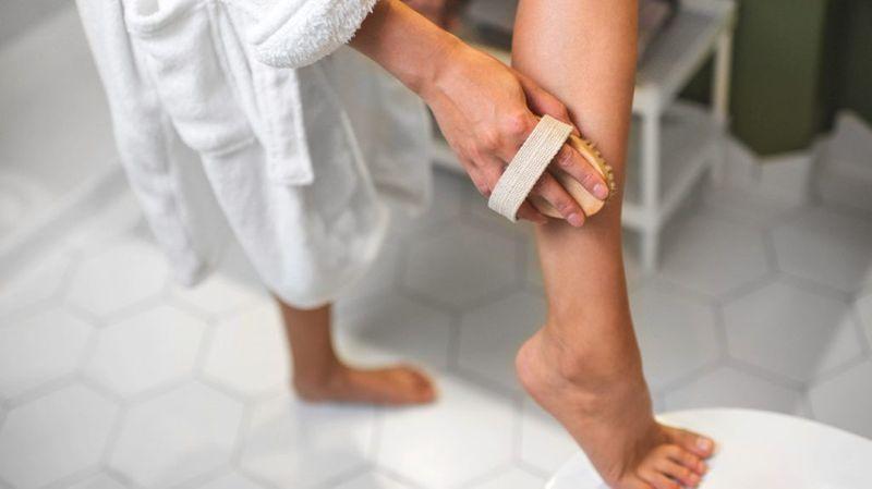 درمان خانگی خشکی ساق پا