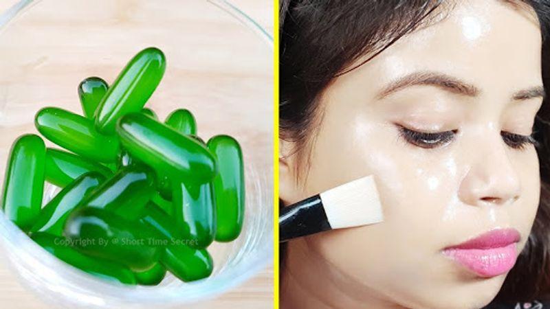 کپسول ویتامین ای برای صورت