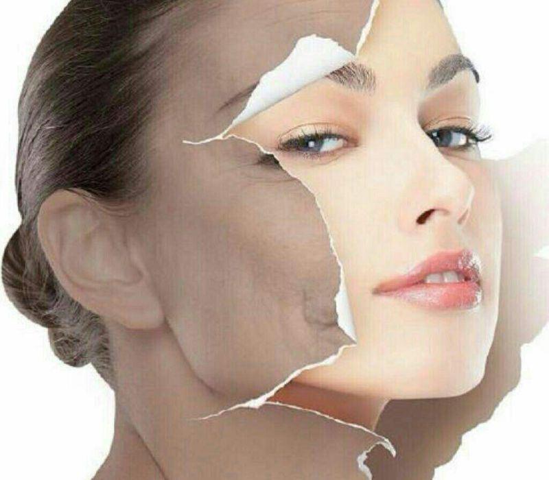 پیله ابریشم برای پاکسازی صورت