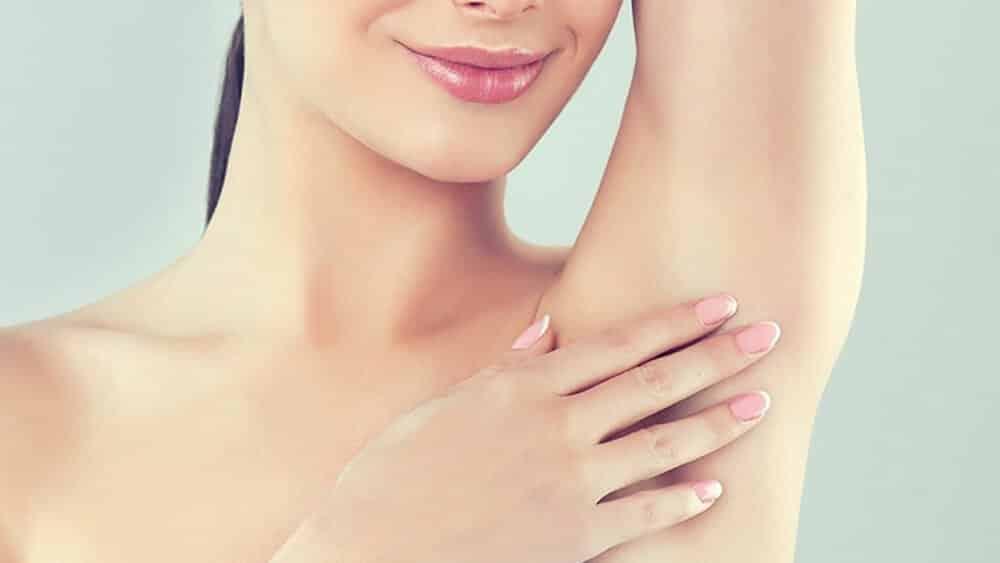 درمان قارچ زیر بغل